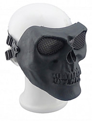 Black Color, Other Material Protection Accessories CS Outdoor Game Mask
