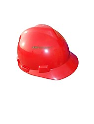 V-Gard Helmets PE Standard D-Type cap Liner Material Roll Up Under the Chin with (Sale Red)