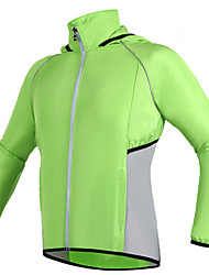 Sports Cycling Jacket Unisex Long Sleeve BikeWaterproof / Breathable / Windproof / Rain-Proof / Wearable / Antistatic / Ultra Light