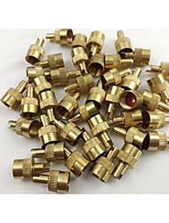 De alta qualidade, cobre, tampa da válvula auto pneu ou tampa da válvula