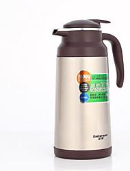 vide en acier inoxydable bouilloire café thermos isolation du pot de la coupe du pot de grande capacité à la maison de voiture cadeau