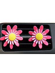 Automotive Air Conditioning Mouth Perfume will Rotate Flower