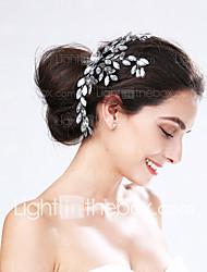 Women's Acrylic Headpiece-Wedding Special Occasion Flowers 1 Piece