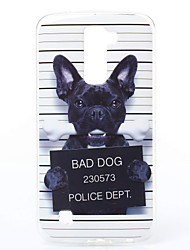 Dog Pattern TPU Material Phone Case for LG K10/K7