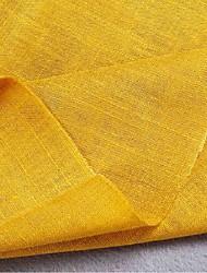 Fabric Yellow Apparel Fabric & Trims