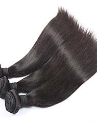 Brazilian Virgin Hair Straight 3pcs/Lot Unprocessed Brazilian Hair Weave Bundles 100% Human Hair Brazilian Straight Hair
