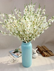 Hi-Q 1Pc Decorative Flowers Dancing Lady Orchid Wedding  Home Table Decoration Artificial Flowers