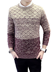 2016 young men in the spring and autumn sweater slim T-shirt fashion set size sweater male head base