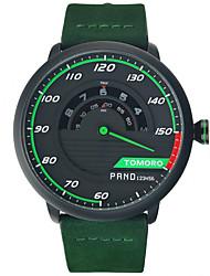 TOMORO Men's Unique Racing Car 3D Design Leather Strap Luxury Fashion Sports Quartz Wrist Watch 2016 Brand New TMR1017