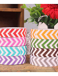 Scrapbooking & Stamping Wedding/Festival 1pc Colorful Masking tape Multi color