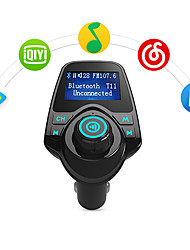Bluetooth FM Transmitter Support TF Card, U Disk, Car Charger