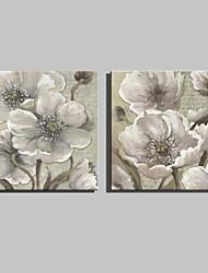 ботанический Холст для печати 2 шторы Готовы повесить,Квадратный