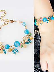 Strand Bracelets 1pc,Fashionable Irregular Golden Alloy Jewelry Gifts