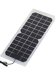 10w 12v монокристаллический панели солнечных батарей с постоянного тока заряда кабеля для 12v батареи (swr1012d)