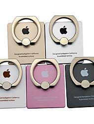téléphone anneau magnétique de support mobile boucle pièces auto paresseux de sortie créative