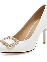 Damen-High Heels-Hochzeit Büro Kleid Lässig Party & Festivität-Kunststoff Lackleder Kunstleder-Stöckelabsatz-Komfort Neuheit Pumps-