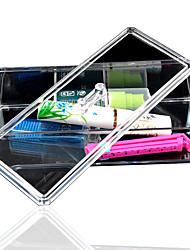 nouveau titulaire de stockage organisateur cosmétique acrylique transparent maquillage cosmétiques boîte femmes d'outils de stockage de