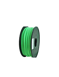 Aurora Quality 3D Printer Consumables Pla Material 1.75Mm 1Kg 	PLA Green