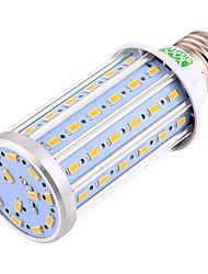 ywxlight® 25w E26 / E27 ha condotto le luci 72 SMD 5730 2000-2200lm caldo / freddo CA 85-265V bianco