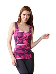 Yoga Tank Breathable / Quick Dry / Wearable / Sweat-wicking / Soft / Compression / Comfortable High Elasticity