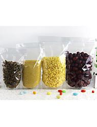 saco transparente lazer embalagens de alimentos cadeia de clipe de saco wolfberry selada Stand saco