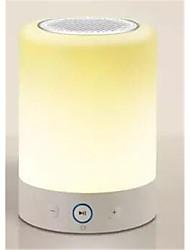 ambiance colorée lampe bluetooth haut-parleur, lampe de chevet de l'ameublement de la maison petits haut-parleurs et haut-parleurs de