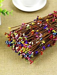 Hi-Q 1Pc Decorative Flower  Bacca Wedding Home Table Decoration Artificial Flowers The Wreath Bracelet Woven Rattan