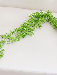 1 Une succursale Polyester Plastique Plantes Autres Guirlande et Fleur Murale Fleurs artificielles 100(39.37'')