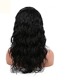 High Quality Body Wave 10-26inch 130% Density Peruvian Human Hair Full Lace Wig