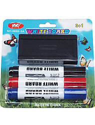 Whiteboard Whiteboard Pen Set Containing Three Color Whiteboard Pen And White Board Eraser