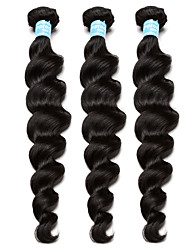 6A Brazilian Virgin Hair Loose Wave 3 Brazilian Hair Weave Bundles CARA Hair Products Curly Weave Human Hair Extensions