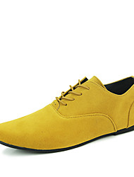 Business Men's Leather Flat Pointed-toe Shoes for Man's Dress Shoes in Party