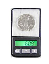 mini-bijoux portable plage de mesure de la balance électronique 200g / 0.01g