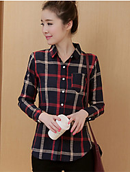 Maternity Shirt Collar Split Shirt,Cotton Long Sleeve