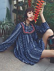 Aporia.As® Women's Round Neck Long Sleeve Shirt & Blouse Multi-MZ10029