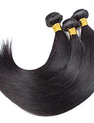 Menschenhaar spinnt Indisches Haar Gerade 18 Monate 3 Stück Haar webt