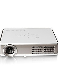 DLP300 DLP WXGA (1280x800) Projector,LED 400 Mini HD Wireless DLP Portable 3D Projector