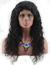 Malaysian Deep Curly Wigs 100% Human Hair Curly Lace Front Wigs For Black Woman Top Gueless Lace Wigs