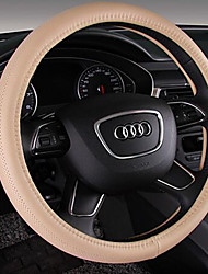 Automotive Leather Steering Wheel Cover Environmental Non-Toxic And Non-Irritating Odor Breathable Absorbent Slip