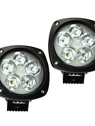 2pcs 4,3 '' 50w cree levou 6900lm levou IP68 luz trabalho levou lâmpada de trabalho para 4x4 caminhão SUV
