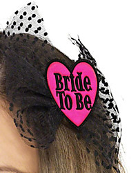 Wedding Party /Valentine Party Accessories-1Piece/Set Costume Accessories Flowers Satin  Heart-shaped Personalized