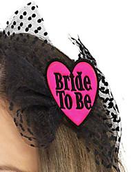Acessórios do partido Acessório para Fantasia Aniversário / S. Valentim / Festa de Casamento Tema  Asiático Forma de Coração Personalizado
