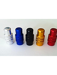 French Air Valve Cap CNC Bicycle Colorful Aluminum Alloy Nozzle Special Gas Nozzle Cap