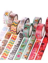 Bridal Shower/Baby Shower/Birthday/Festival 1pc Colorful Masking tape