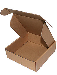 Brown Color Other Material Packaging & Shipping KK Clothing Boxes A Pack of Eight