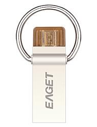 Eaget V90-32G 32 Гб USB 3.0 Водостойкий / Ударопрочный / Компактный размер / Поддержка OTG (Micro USB)