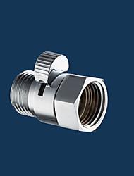 cabeça do pulverizador realizada controlador de redução de bronze controle de fluxo de pressão da água válvula da mão desligar o