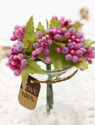 Hi-Q 1Pc Decorative Flower Small Berry Wedding Home Table Decoration Artificial Flowers