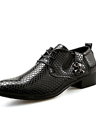 Men's Oxfords Casual/Office & Career/Party & Evening Noble Brand Patent Leather Serpentine Shoes