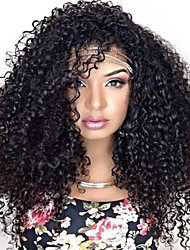 Hot Sale Black Long Curly Wig for African American Women Afro Kinky Curly Synthetic Wig for Black Women
